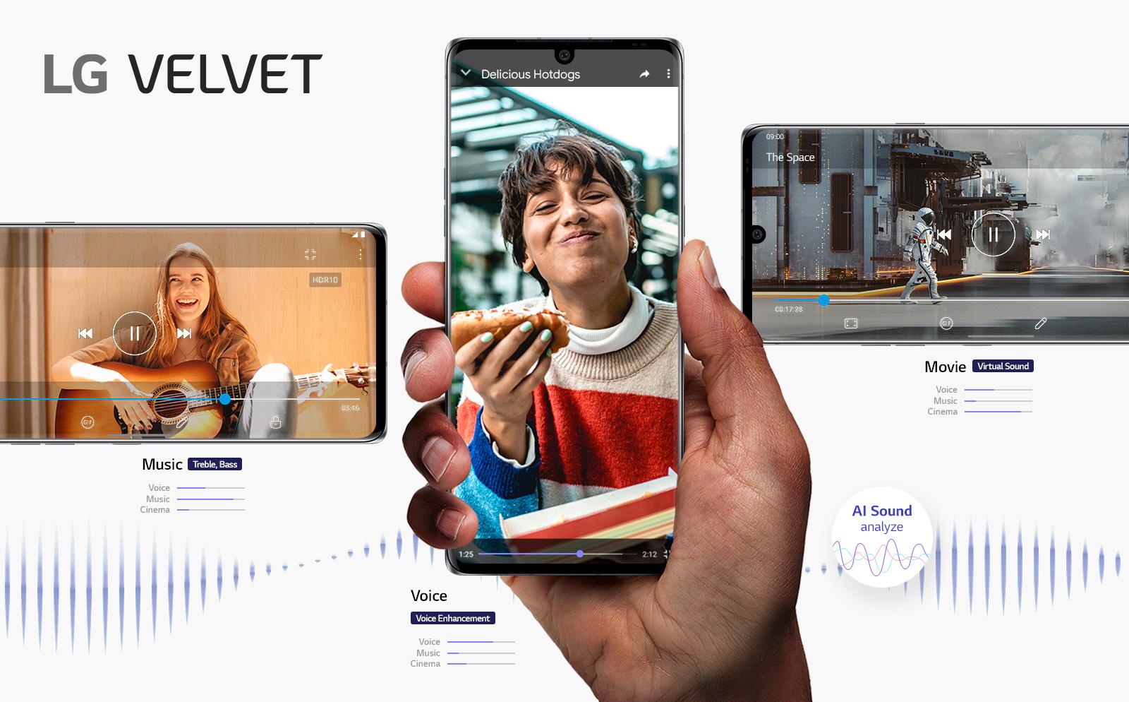 LG Electronics presenta LG Velvet 5G en España