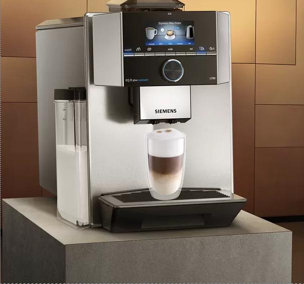 Siemens se apunta al café conectado y con coffee playlist