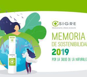 Sigre publica su memoria de sostenibilidad