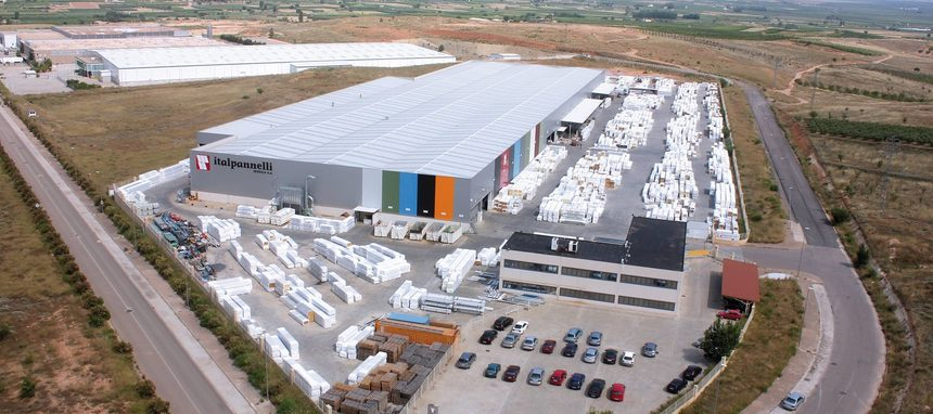 Italpannelli Ibérica amplía sus instalaciones en Zaragoza