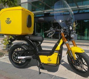 Correos incorpora 600 nuevas motos eléctricas