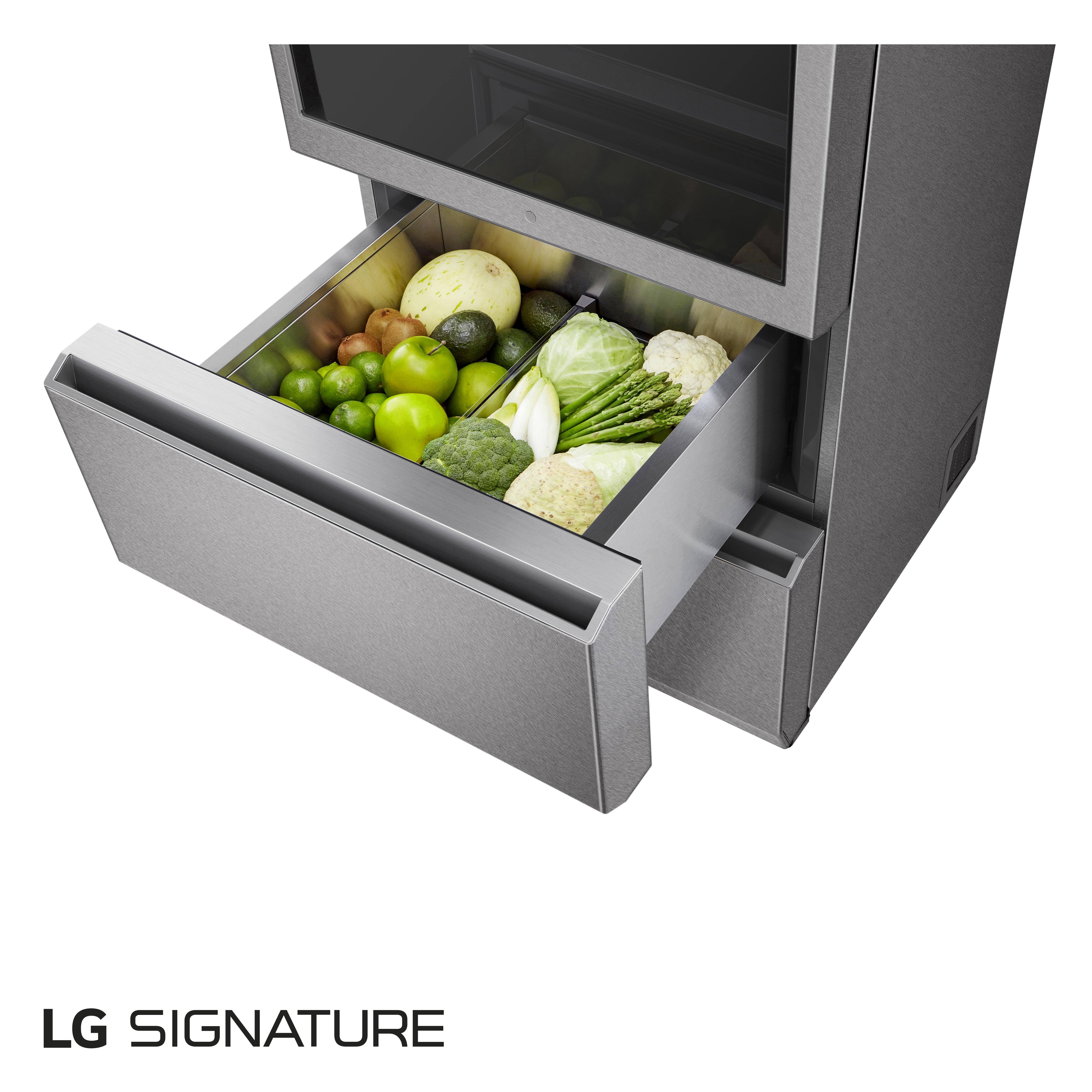 LG presenta el frigorífico combi LG Signature InstaView Door-in-Door