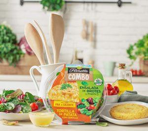 Tortilla de patata y ensalada de brotes, la nueva propuesta de Florette