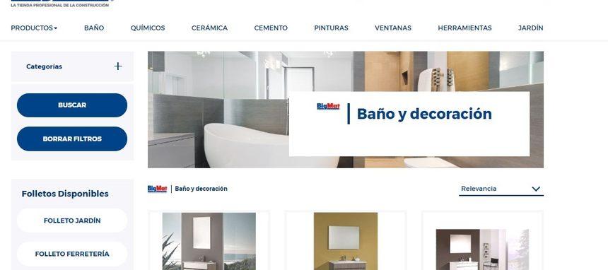 BigMat pone en marcha su nueva tienda online