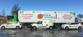 Híper Usera amplía su flota híbrida de gas natural comprimido