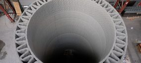 LafargeHolcim España colabora en un proyecto de impresión en 3D para construir molinos eólicos de altura récord