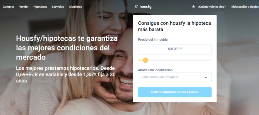Housfy lanza su propia filial hipotecaria