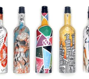 Nueva botella para vino a partir de cartón reciclado