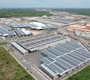 Pamesa pone en marcha planta solar