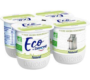¿Qué decisión estratégica acaba de tomar Danone en yogures ecológicos?