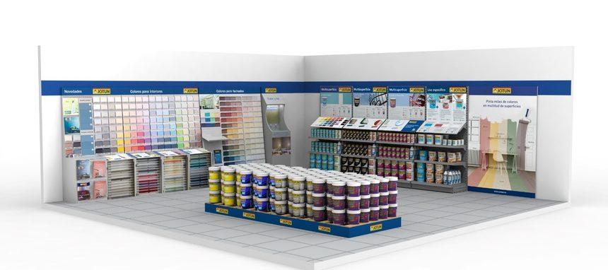 Jotun renueva sus más de 300 tiendas Jotun Multicolor