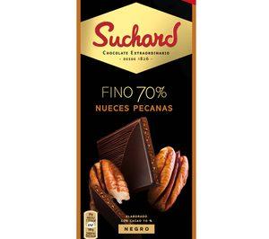 Suchard refuerza su oferta de tabletas con una nueva gama de chocolate negro