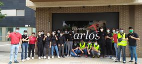 Pizzerías Carlos sigue creciendo en la provincia de Barcelona