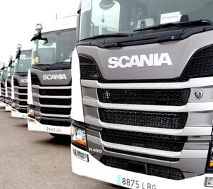 Kortimed incorpora 40 camiones Scania a su flota