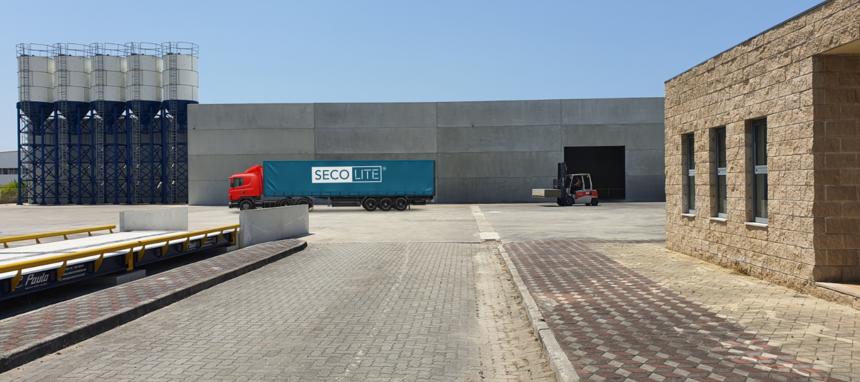 La nueva fábrica de Secolite iniciará producción en septiembre