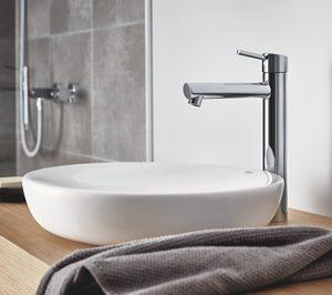 Grohe amplía su catálogo de griferías para baño XL