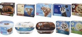 Carrefour alcanza el centenar de referencias en helados con marca propia