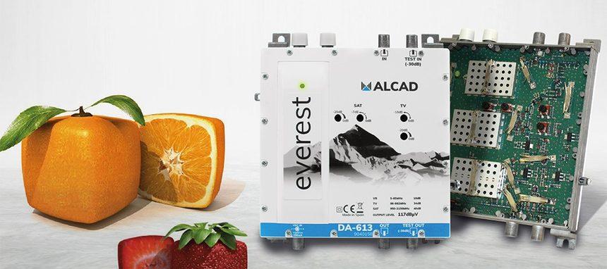 Alcad renueva sus amplificadores de distribución Everest