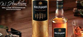 Pernod Ricard asume la distribución del whisky '100 Pipers'