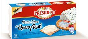 Lactalis Forlasa crece en el segmento de porciones con Président Petite Crème