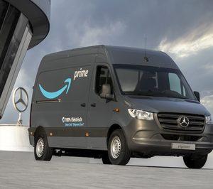 Amazon encarga más de 1.800 furgonetas eléctricas a Mercedes-Benz Vans
