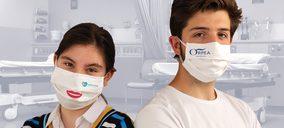 Miguélez presenta su línea de mascarillas higiénicas reutilizables y personalizables