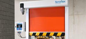 Ferroflex presenta su nueva puerta rápida para líneas de producción automatizadas