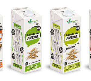 Soria Natural presenta sus nuevos envases renovables para su gama de bebidas vegetales