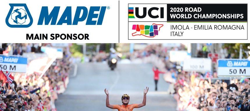 Mapei patrocina el Campeonato del Mundo de ciclismo en ruta UCI 2020