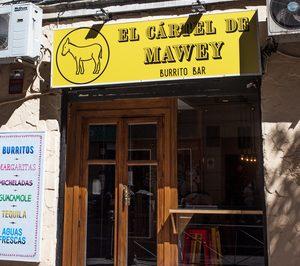 Mawey abre un local con su marca de delivery El Cártel de Mawey