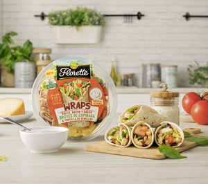 Florette se suma a la tendencia Tex-Mex y lanza Wraps de pollo y beicon