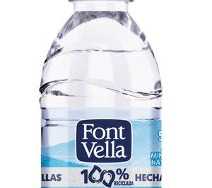 'Font Vella' lanza su primera botella con un 100% de r-PET