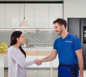 Samsung activa un programa de reparación de electrodomésticos fuera de garantía por un precio fijo