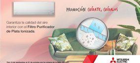 Mitsubishi Electric continúa su apuesta por la calidad de aire interior con la entrega gratuita de un filtro purificador