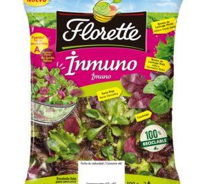 Florette retirará del mercado más de 160 t de plástico al año