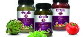 Borges completa su oferta de productos italianos Ortalli con salsas