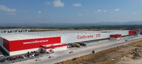 Conforama centraliza los envíos a su red de Iberia desde el nuevo almacén de Llíria