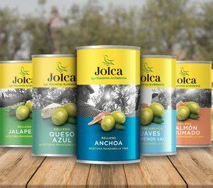 Jolca renueva y relanza su marca de aceitunas