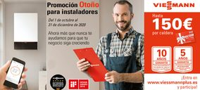 Viessmann lanza su promoción de otoño para profesionales de la calefacción