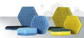 Scotch-Brite amplía su familia HEX de almohadillas y laminados con forma hexagonal