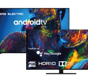 Eas Electric lanza su nueva gama de Smart TV con Android TV