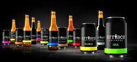 Cervezas Arriaca capea el temporal gracias a la diversificación de canales y formatos
