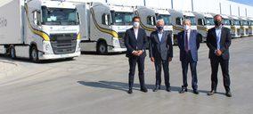 Primafrio apuesta por el medio ambiente y sustituye 300 camiones por otros más eficientes