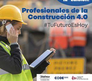 Fundación Telefónica, CEOE y la Fundación Laboral de la Construcción lanzan la segunda edición del 'Nanogrado de la Construcción 4.0'