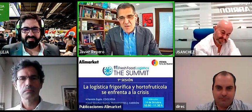 El sector de logística frigorífica analiza su respuesta a la crisis en Fresh Food Logistics The Summit