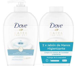 Dove da un paso más en higiene de manos incorporando ingredientes antibacterianos