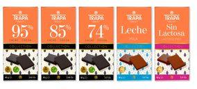 Trapa lanza una línea de tabletas de altos porcentajes de cacao