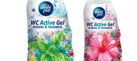 'Ambipur' se prepara para competir en el lineal de limpiadores WC en España
