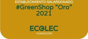 Ecolec reconocerá el compromiso de 75 establecimientos #GreenShop de toda España