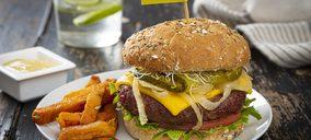 Heura desarrolla un análogo de grasa con AOVE para mejorar el perfil de su nueva burger